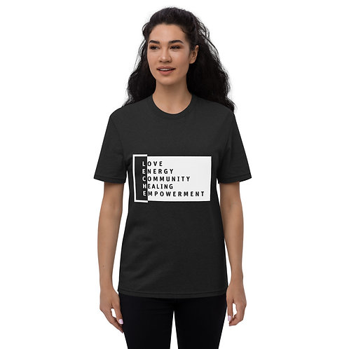 """""""LECHE We Are Defined"""" Unisex recycled t-shirt"""