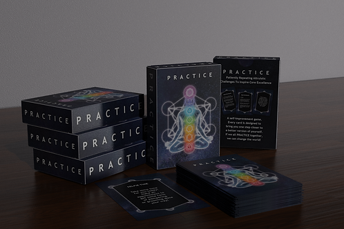"""The """"PRACTICE"""" Card Game Created by Eddie Pabon"""