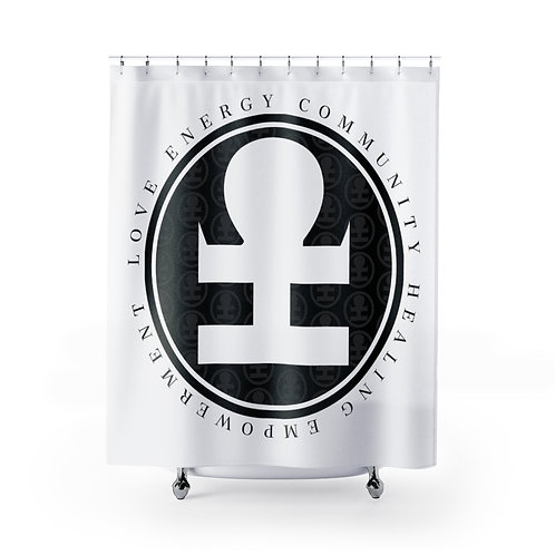 LECHE Shower Curtain