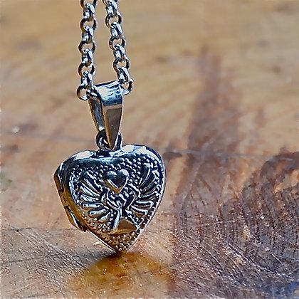 Angel Heart Locket
