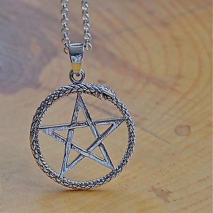 Ouroboros Pentagram