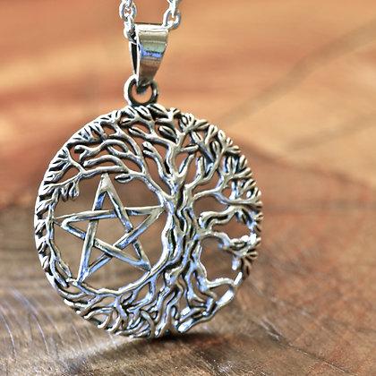 Craggy Tree of Life Pentagram