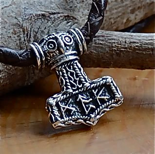 Thor's Hammer with Runes