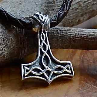 Celtic Knotwork Thor's Hammer