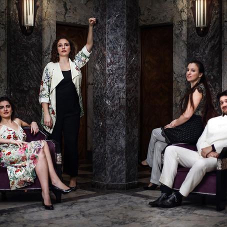Introducing: The Akhtamar Quartet and Laura Martin