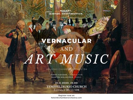 Vernacular and Art Music
