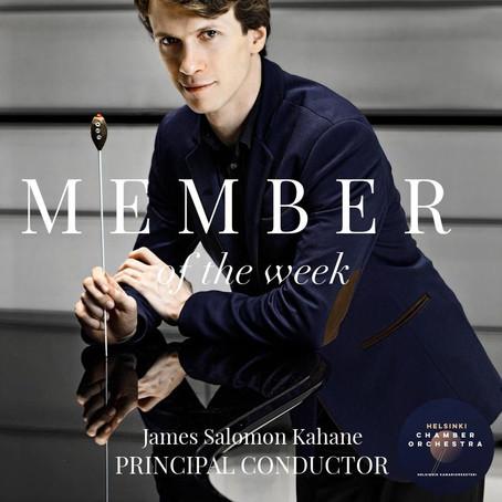 Member of the Week - James Salomon Kahane