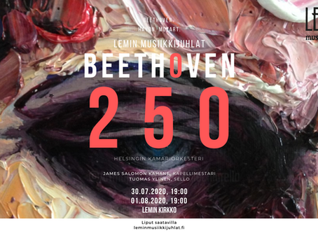 Lemin musiikkijuhlat 2020: Beethoven 250