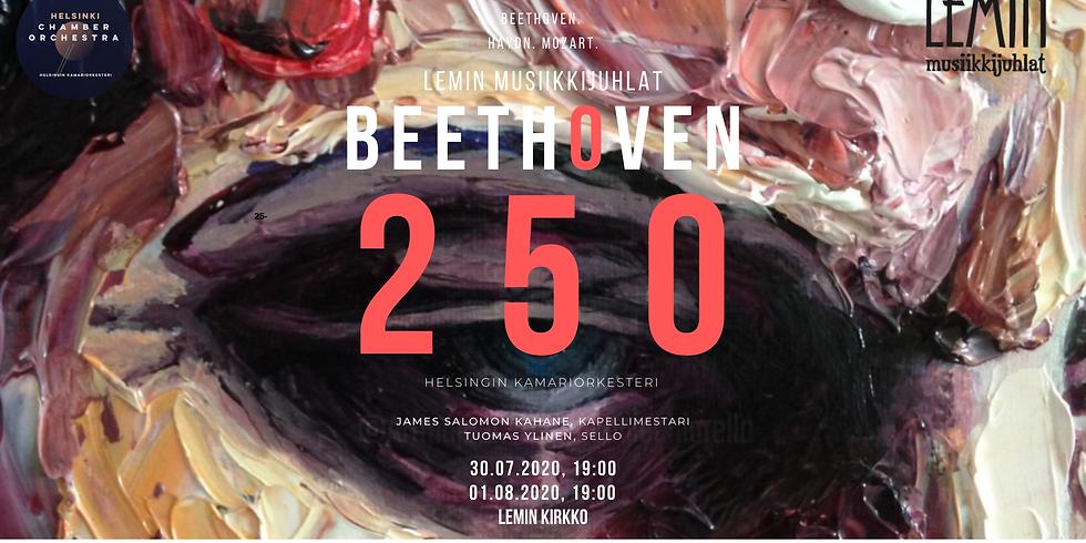 Lemin musiikkijuhlat: Beethoven 250