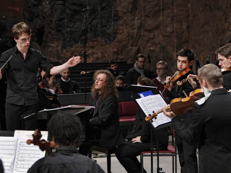 "Hufvudstadsbladet Review: ""Strong chamber orchestra debut with several rarities"""