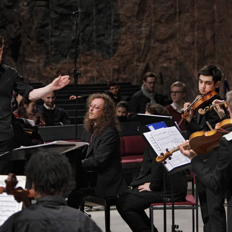 """Hufvudstadsbladet Review: """"Strong chamber orchestra debut with several rarities"""""""