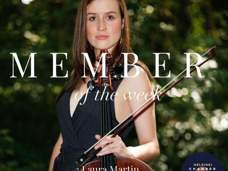 Member of the Week - Laura Martin