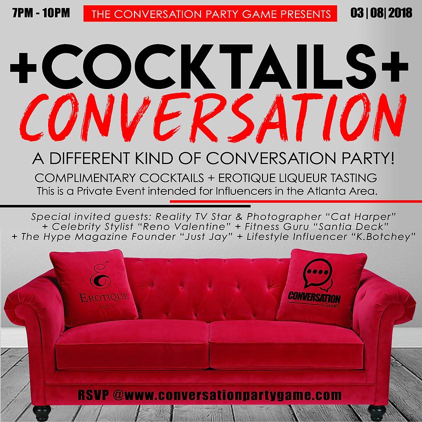 Cocktails + Conversation