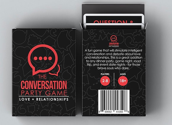 The Conversation Party Game - Love+Relationships