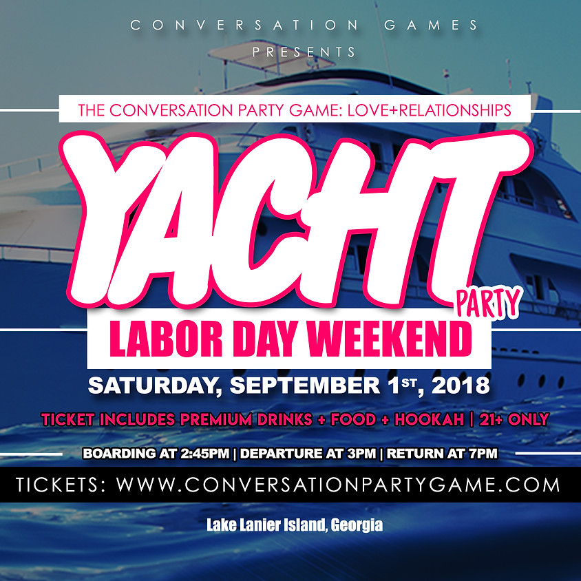 The Conversation Party Game Yacht Party