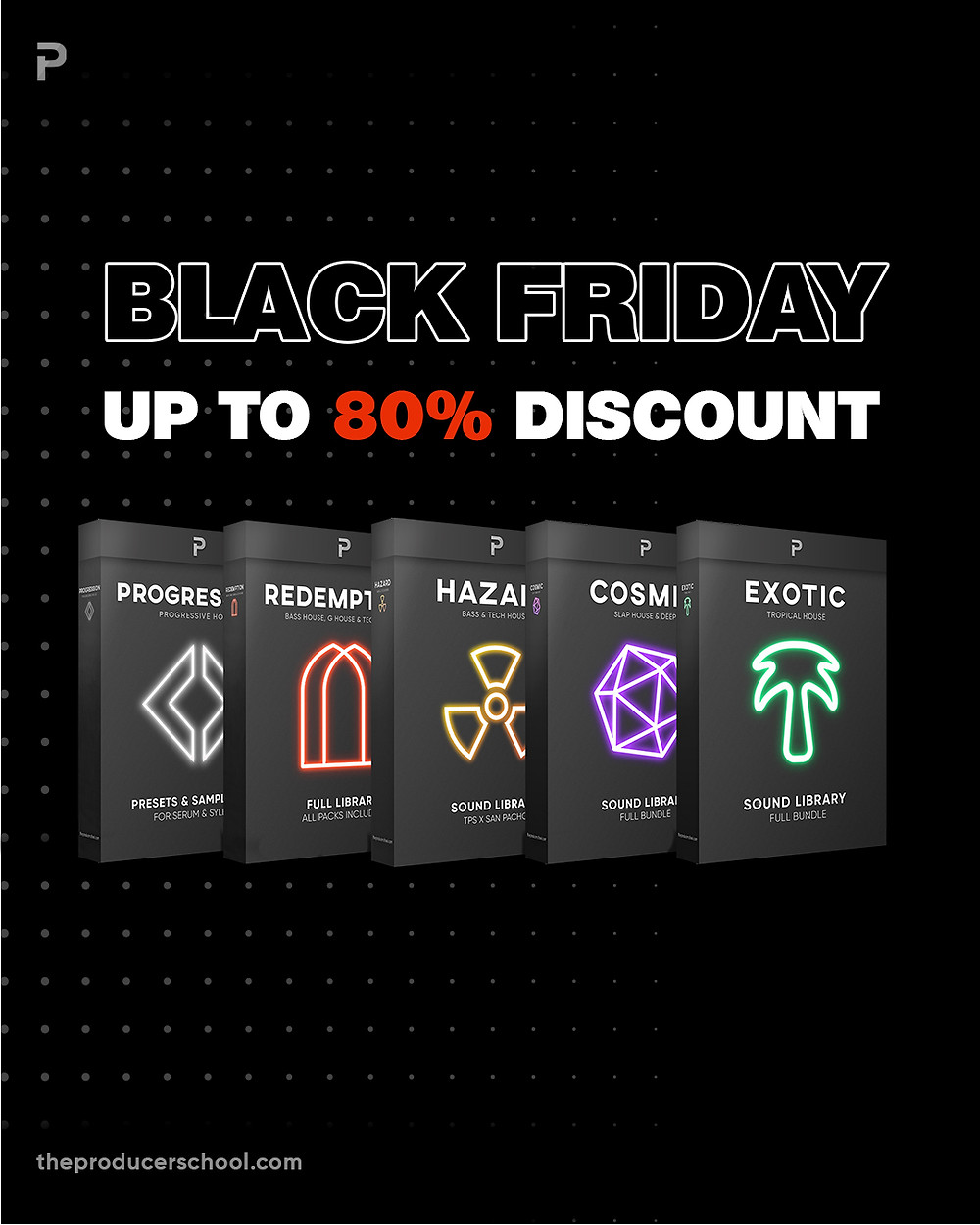 Black Friday Pack Selection