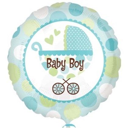 2F0001 Baby Boy 鋁紙氣球  Baby Boy Foil Balloon