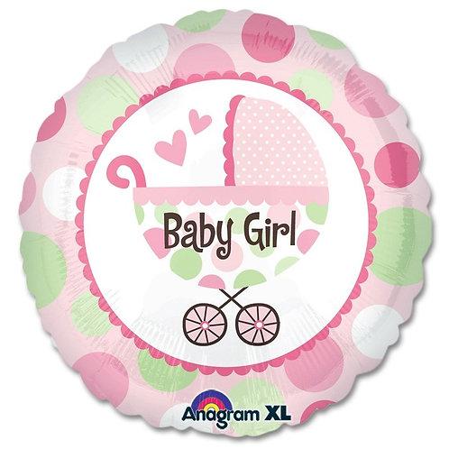 Baby Girl 2F0099 /Baby Boy 2F0001 Foot Foil Balloon 鋁紙氣球