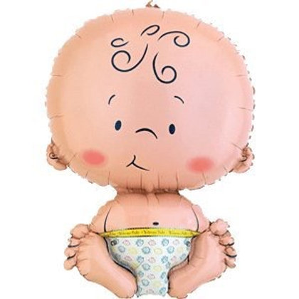 2F0014 Baby鋁紙氣球 Baby Foil Balloon