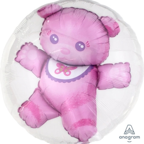 Double Bubble Baby Teddy Balloon BB啤啤熊水晶氣球