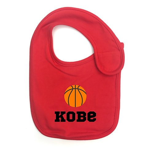 Basketball Personalised Bib 藍球繡名口水肩