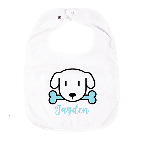 Doggy Personalised Bib 狗狗繡名口水肩