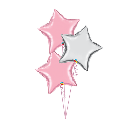 Star Balloon Bouquet 星星氣球束 (3pcs)