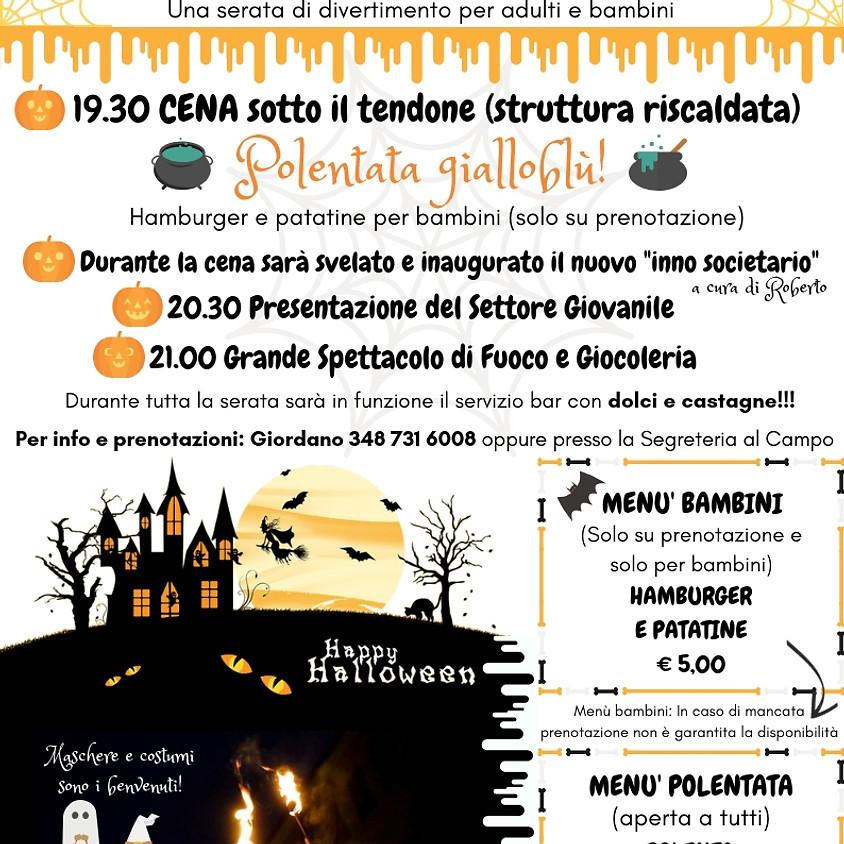 Presentazione Settore Giovanile tema Halloween