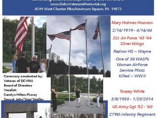 Casket Flag Raising Ceremony - Howson/Torpey