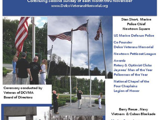 Casket Flag Raising Ceremony - Reese/Short