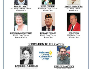 Freedom Medal Honorees 2016