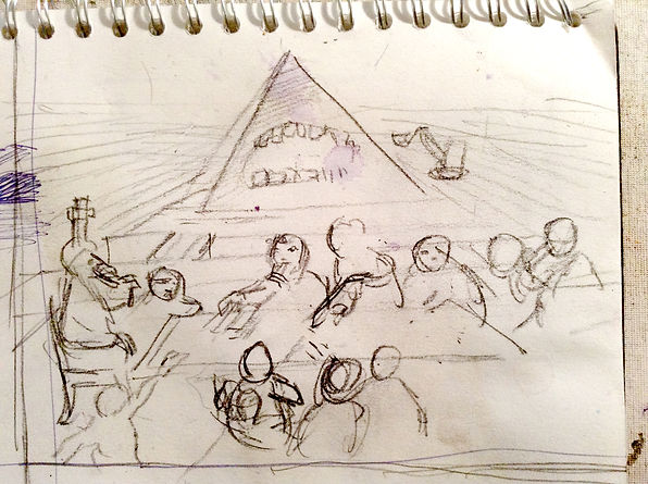 The Last supper sketch.jpg