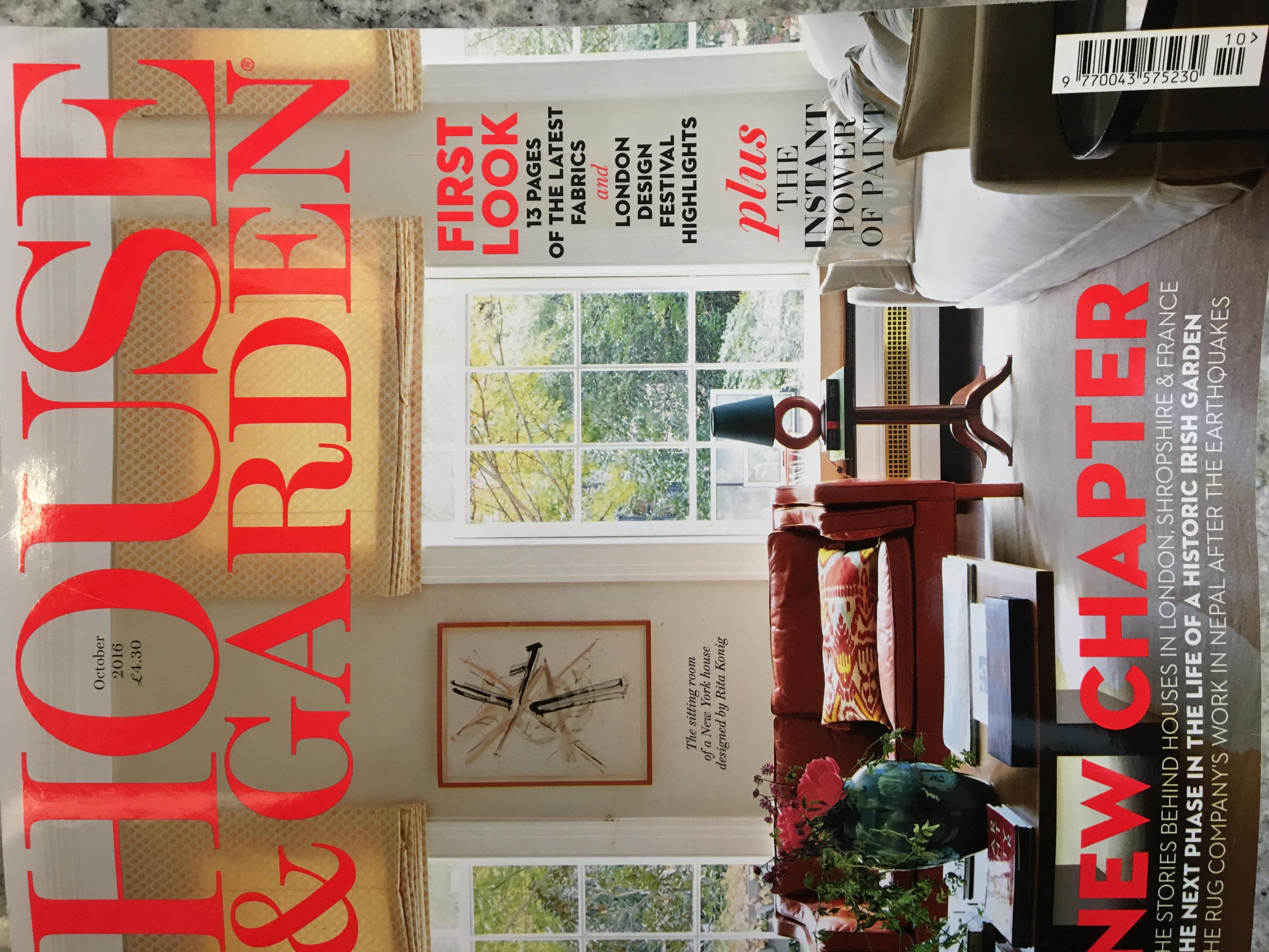 Kelfield featured in House & Garden