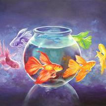 Goldfish XII - SOLD - £400
