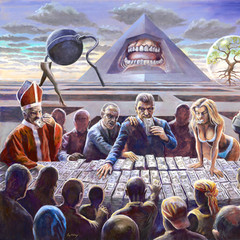 The Last Supper-SOLD-£1,800