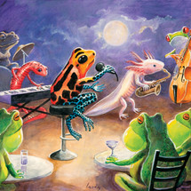 SOLD - Salamander Ball Jazz Band 5