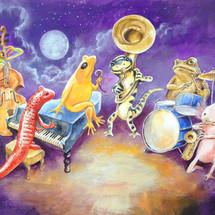 SOLD - Salamander Ball Jazz Band 6