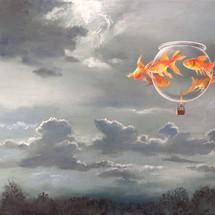 Goldfish XIX - SOLD - £375