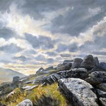 Oke Tor, Dartmoor-SOLD-£350