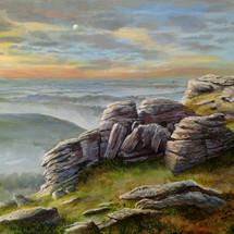 Black Tor, Dartmoor - £350 - SOLD