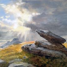 Rabbit Rock, Dartmoor-SOLD