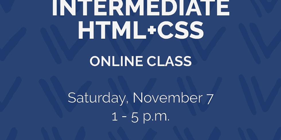Intermediate HTML+CSS