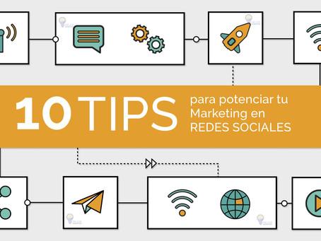 10 Tips para Potenciar tu Marketing en Redes Sociales