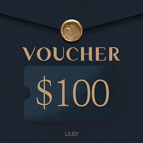 LILIEF SHOPPING COUPON 100