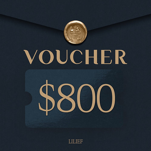 LILIEF SHOPPING COUPON 800