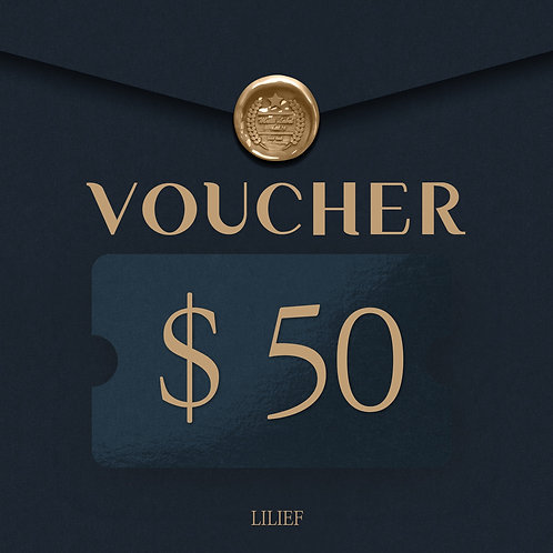LILIEF SHOPPING COUPON 50