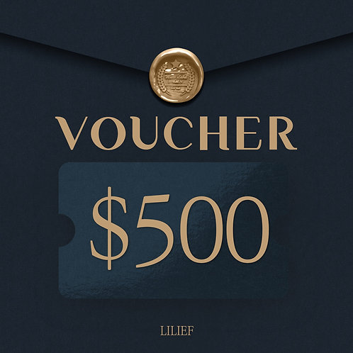 LILIEF SHOPPING COUPON 500