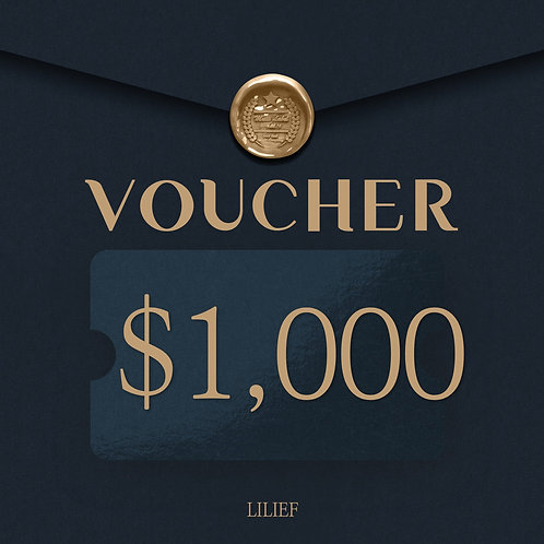 LILIEF SHOPPING COUPON 1000