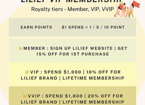 VIP PROGRAM [LILIEF]