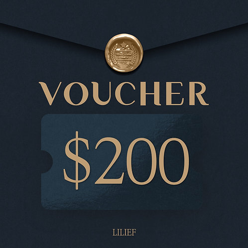 LILIEF SHOPPING COUPON 200